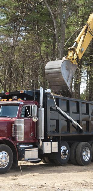 C & M Dirt Work, LLC hauling services